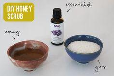 Easy DIY Honey Scrub