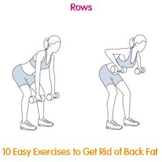 These 10 effective exercises, alongside a healthy diet, and you will to get rid of back fat in no time!