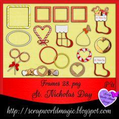 Digital Scrapbooking Freebies, St Nicholas Day, Kit, Frames, Kids Rugs, Home Decor, Decoration Home, Kid Friendly Rugs, Room Decor