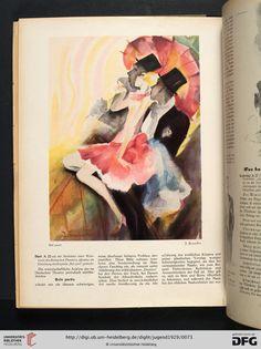 FB / Jugend: Münchner illustrierte Wochenschrift für Kunst und Leben — 34.1929 / Josef Fenneker: Bal Paré
