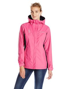 Columbia Women's Tested Tough In Pink Rain Jacket Ii * This is an Amazon Affiliate link. Continue to the product at the image link.