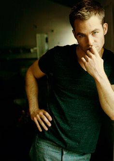 Chris Pine, Captain Kirk - let's just all be honest here. This is the real reason I watched Star Trek