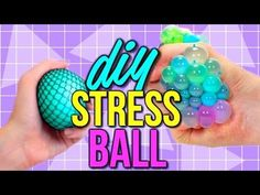 DIY Squishy Stress Ball | How to Make a Stress Ball | Courtney Lundquist - YouTube