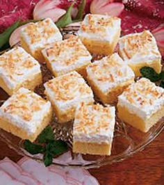 Hawaiian Dessert - I've made this in a large sheet pan for big parties. Always a big hit!