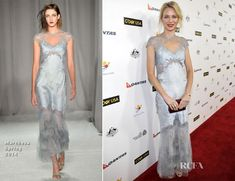 Naomi Watts In Marchesa – G'Day USA Los Angeles Black Tie Gala