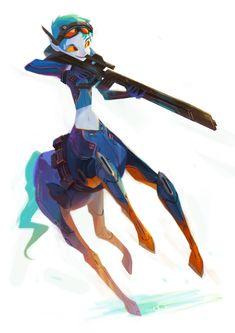 Centaur girl.                                                       …                                                                                                                                                     More