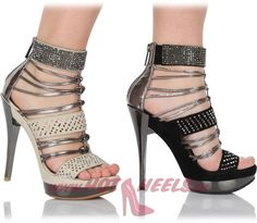 Hot Leather Sandals by RosaRot