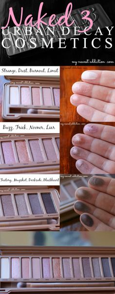 Urban Decay Naked 3 Palette: Review, Swatches, and Comparisons - My Newest Addiction Beauty Blog
