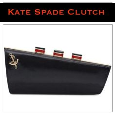 """Spotted while shopping on Poshmark: """"NWT Kate Spade All Aboard Clutch""""! #poshmark #fashion #shopping #style #kate spade #Clutches & Wallets"""