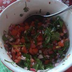 Salvadoran Salsa (Chimol) Allrecipes.com