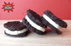 = PROTEIN POW(D)ER !: Protein Oreos - A High-Protein, Low-Carb, and Low-Calorie Healthy Oreo Cookie Recipe, WHAT!?