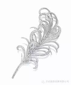 "Diamond ""feather"" brooch Mikimoto - March 10 2019 at High Jewelry, Luxury Jewelry, Jewelry Art, Antique Jewelry, Vintage Jewelry, Jewelry Design, Fashion Jewelry, Jewellery Box, Jewlery"