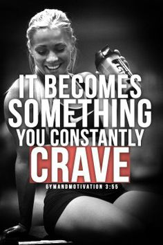 It becomes something you constantly crave... hopefully more than ice cream ;)