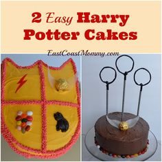 Easy Harry Potter Cakes
