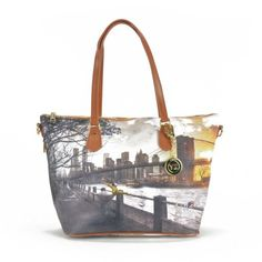 913d19a443 Borsa Donna Y NOT Shopping media a Spalla con Tracolla I-396 Fame in New