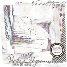 Vicki's Pages no 3