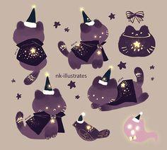 Night Cat's Holiday.