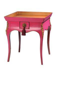 Pink Louis XV Knitting Table