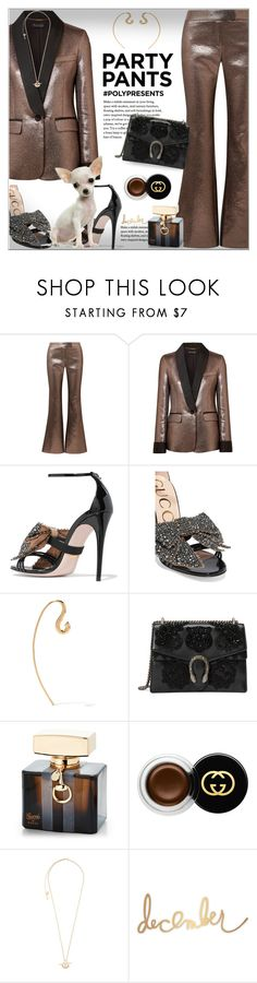 """""""#PolyPresents: Fancy Pants"""" by alves-nogueira ❤ liked on Polyvore featuring Rachel Zoe, Gucci, Charlotte Chesnais, Heidi Swapp, contestentry, polyvoreeditorial and polyPresents"""