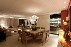 Apartamento CJ: Salas de jantar modernas por Espaço Gláucia Britto