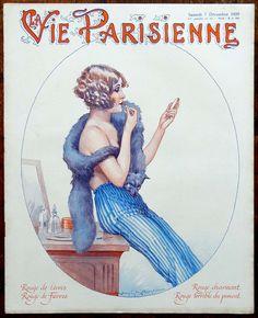 Maurice Millière (1871 – 1946). La Vie Parisienne, 7 Décembre 1929. [Pinned 19-vi-2016]