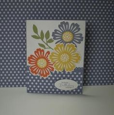 Love these flowers.  Mixed Bunch stamp set (SU). by lela