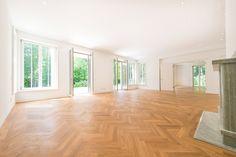 Riedel Immobilien Bestlage Nymphenburg am Schlosspark: Luxuriöse 6-Zimmer-Gartenwohnung mit äußerst hochwertiger Ausstattung Details: http://www.riedel-immobilien.de/objekt/2635