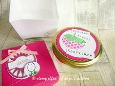 Stempelfix beim Workshop Marmelade mit dem TM5 gekocht und hübsch dekoriert mit Stampin` Up!