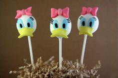 Posts about cake pops written by mykcbakes Daisy Duck Cake, Daisy Cakes, Elegant Cake Pops, Mickey Mouse Clubhouse Cake, Daisy Party, Kids Pop, Minnie Birthday, 2nd Birthday, Cookie Pops
