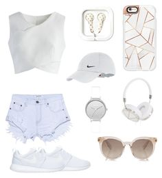 """""""Summer"""" by jesstait ❤ liked on Polyvore featuring One Teaspoon, Chicwish, Casetify, Frends, NIKE, Skagen, Summer, Womens and girlsfashionCreated"""
