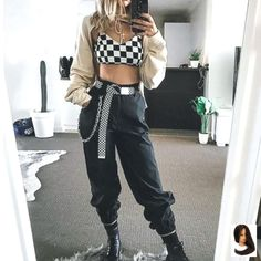 18 Ideas dancing outfits hip hop dancers for 2019 Hipster Outfits, Rave Outfits, Fashion Outfits, Cute Casual Outfits, Hip Hop Dancer Outfits, Hip Hop Outfits, Outfit Essentials, Concert Outfit Winter, Style Hip Hop