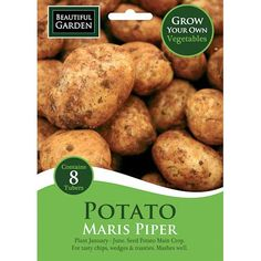 8 Maris Piper Seed Potatoes - Early Main Crop | Poundland
