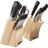 Top Chef 20-Pc. Super Knife Set with 2 Wood Blocks