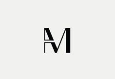 AM Monogram Design by Freelance Logo Designer Richard Baird - richardbaird.com
