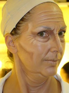 old age makeup - Google Search: