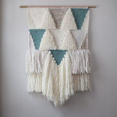 Finished up this loopy beast this morning. #weaving #etsy
