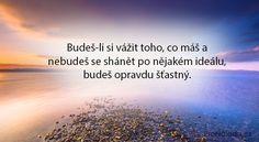 www.pronaladu.cz balmforthesoul balm10 Motto, Mantra, Karma, We Heart It, Thoughts, Humor, Words, Quotes, Psychology