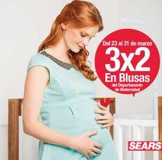 0d1750c4b Sears 3×2 en blusas de maternidad