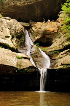 Cedar Falls in the Hocking Hills of Ohio.