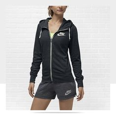 Nike Gym Vintage Full-Zip Women's Hoodie | Hoodie | Pinterest ...