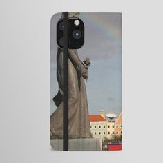 Rainbow over Willemstad Curaçao iPhone Wallet Case by stine1 - tap and buy right now! #IphoneWalletCase #photography #nature #digital #color #willemstad Willemstad, Unique Iphone Cases, Iphone Wallet Case, Your Cards, Door Handles, Smartphone, Rainbow, Digital, Nature