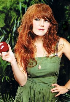 Jenny Lewis of Rilo Kiley.  I love her.  I love her lyrics.  My favorite of favorites.