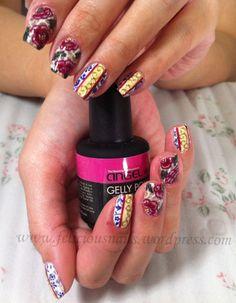 Mary's elegant-classy oriental nails!