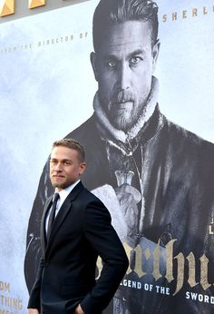 """Charlie Hunnam Photos Photos - Actor Charlie Hunnam attends the premiere of Warner Bros. Pictures' """"King Arthur: Legend Of The Sword"""" at TCL Chinese Theatre on May 8, 2017 in Hollywood, California. - Premiere of Warner Bros. Pictures' 'King Arthur: Legend of the Sword' - Red Carpet"""