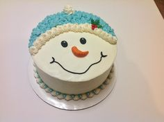 You have to see Snowman cake on Craftsy!