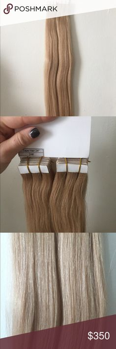 """Human Russian Slavic Hair Extensions Length 24"""" Brand new 100% human hair, color code 24# bought directly from the factory Accessories Hair Accessories"""