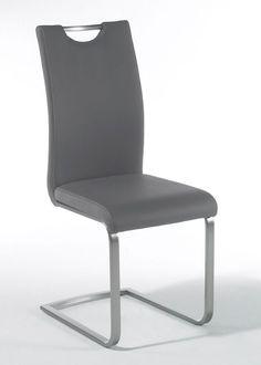 Schwingstuhl Paulo 4er-Set Grau 7889. Buy now at https://www.moebel-wohnbar.de/schwingstuhl-paulo-4er-set-grau-7889.html