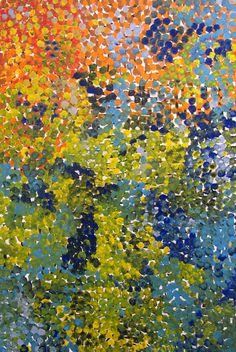 Galya Pwerle  acrylic on linen  (DG08700.GP)  180 x 120cm