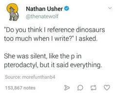 """27 Pterrible Dinosaur Memes That Are Pure Dino-mite - Funny memes that """"GET IT"""" and want you to too. Get the latest funniest memes and keep up what is going on in the meme-o-sphere. Funny Cute, Really Funny, Hilarious, Stupid Funny Memes, Funny Posts, Funny Stuff, Funniest Memes, Random Stuff, Funny Gifs"""