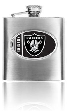 Oakland Raiders 8oz Flask